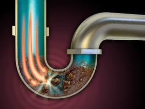 how to clean out a clogged garbage disposal